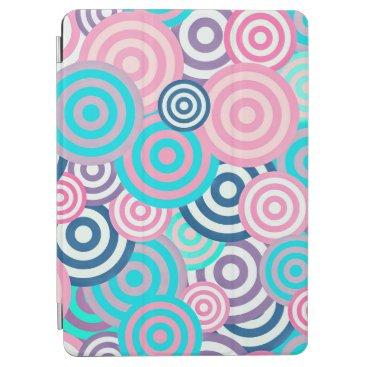 Adorable Retro Abstract Circles   iPad Air Case