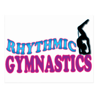 Adorable Rhythmic Gymnastics Gifts Postcard