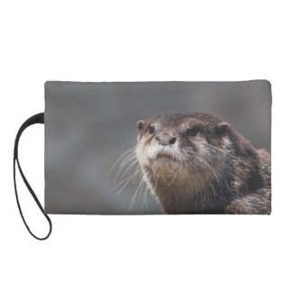 Adorable River Otter Wristlet Clutches