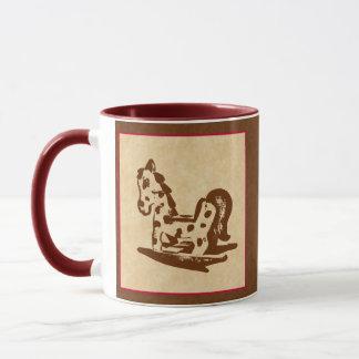 Adorable Rocking Horse Toy Mug