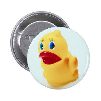 Adorable Rubber Duck Button