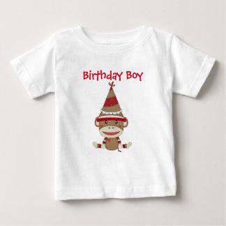 Adorable Rustic Custom Sock Monkey Party Shirt