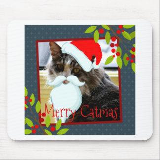 Adorable Santa Cat Christmas Collection Mousepad