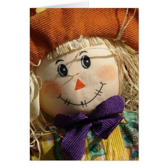 Adorable Scarecrow Card