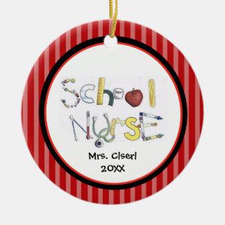 Adorable School Nurse Ornament