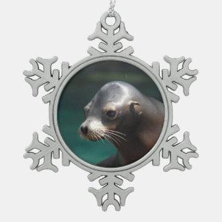 Adorable Sea Lion Ornament