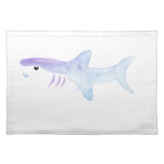 Adorable Shark Cloth Placemat
