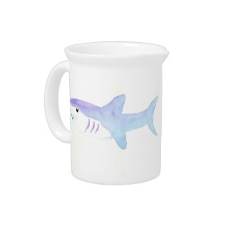 Adorable Shark Drink Pitcher