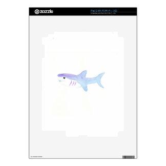 Adorable Shark iPad 2 Skin