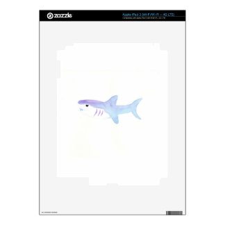 Adorable Shark iPad 3 Skins