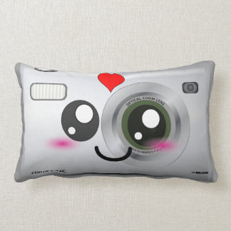 Adorable Smiley Camera pillow
