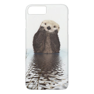 Adorable Smiling Otter in Lake iPhone 8 Plus/7 Plus Case