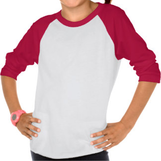 Adorable Snail Big Sister Girls' Raglan T-shirt