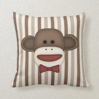 Adorable Sock Monkey Home Decor Items Pillow