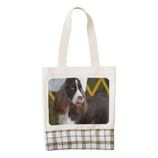 Adorable Springer Spanial Zazzle HEART Tote Bag