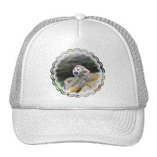 Adorable Squirrel Monkey  Baseball Hat
