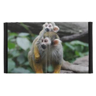 Adorable Squirrel Monkey iPad Folio Case