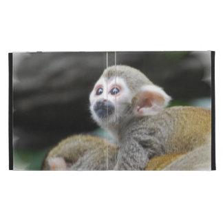 Adorable Squirrel Monkey iPad Case