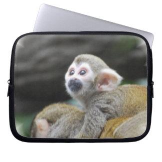 Adorable Squirrel Monkey Laptop Sleeve