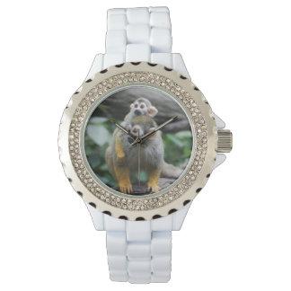 Adorable Squirrel Monkey Watch