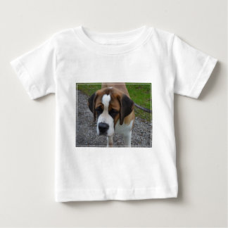 Adorable St Bernard Baby T-Shirt