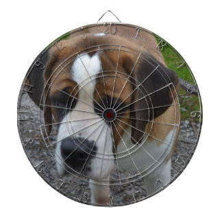 Adorable St Bernard Dart Board