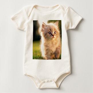 Adorable Stop Motion Kitten Bodysuit