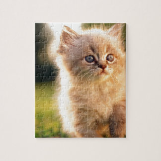 Adorable Stop Motion Kitten Jigsaw Puzzle
