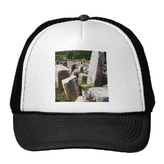 Adorable stray cat living in the ruins of Ephesus Trucker Hat