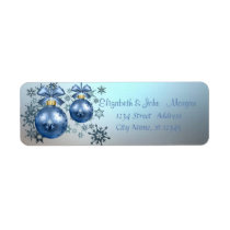Adorable Stylish ,Christmas Balls,Snowflakes Label