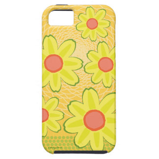 Adorable Sunshine Daisy and Zinnia Flowers iPhone SE/5/5s Case