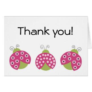 Adorable Sweetie Pie Ladybug Greeting Card