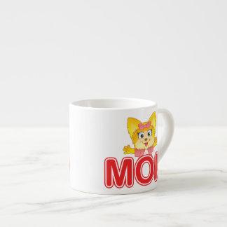 Adorable Teakup Yorkie Cartoon for Mom Espresso Cup