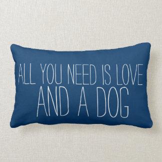 Adorable todo lo que usted necesita es amor, y un almohada