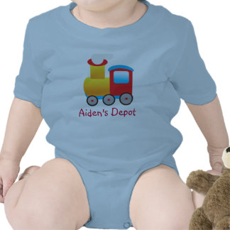 Adorable Train Outfit Tshirts