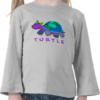 Adorable Turtle Colorful Toddler T-shirt
