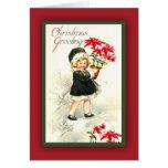 Adorable Vintage Christmas Greetings Card