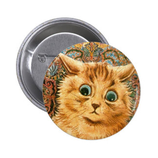 Adorable Wallpaper Cat by Louis Wain Pins