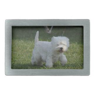 Adorable West Highland Terrier Belt Buckles