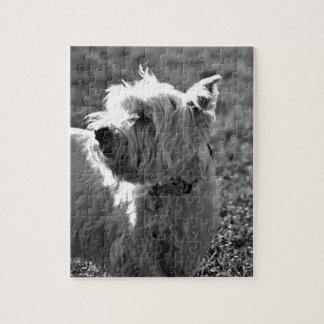 Adorable Westie Terrier Collection Jigsaw Puzzle