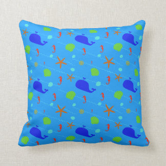 Adorable Whale Themed Pillows