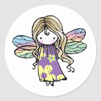 Adorable Whimsical Fairy Stickers