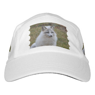 Adorable White Fox Headsweats Hat