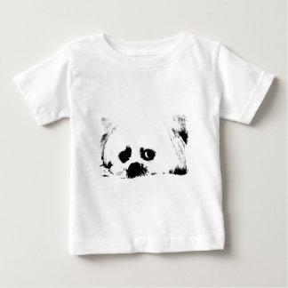 Adorable white Maltese puppy dog Baby T-Shirt