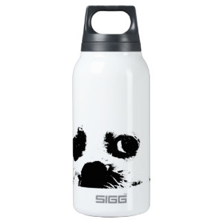 Adorable white Maltese puppy dog Insulated Water Bottle