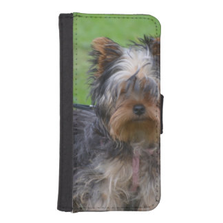 Adorable Yorkshire Terrier Phone Wallet