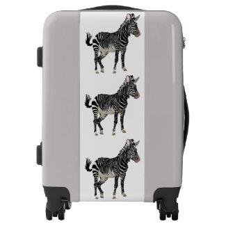 zebra suitcases