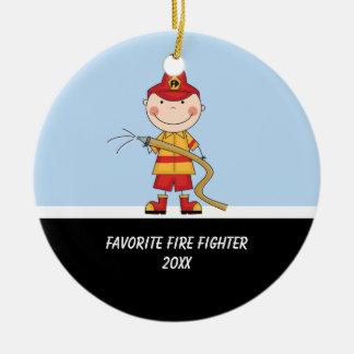 Adorablel Fire Fighter Ornament