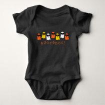 Adoraboo! Halloween Ghosts Baby Bodysuit