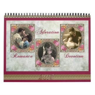 Adoración de 2013 calendarios, romance, dedicación